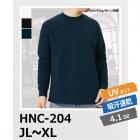 【63%OFF/最安値に挑戦】吸汗速乾 ハニカム長袖Tシャツ(リブあり) HNC-204