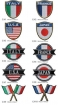 【圧着ワッペン】国旗シリーズライオンブラザース社製 WP-0020