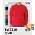 【59%OFF/最安値に挑戦】10.0oz レギュラーウェイトスウェットシャツ(裏毛/パイル) SW2210