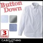 【最安値に挑戦】オックスフォード ボタンダウンシャツ C.A.B.CLOTHING 1069-01