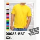 4.0oz ライト Tシャツ 半袖 XXL 3L 無地 Printstar/プリントスター 00083-BBT