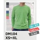 【最安値に挑戦】4.3oz トライブレンド 長袖 Tシャツ DALUC/ダルク DM104