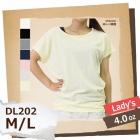 【最安値に挑戦】4.0oz T/C ドルマン Tシャツ レディース DALUC/ダルク DL202